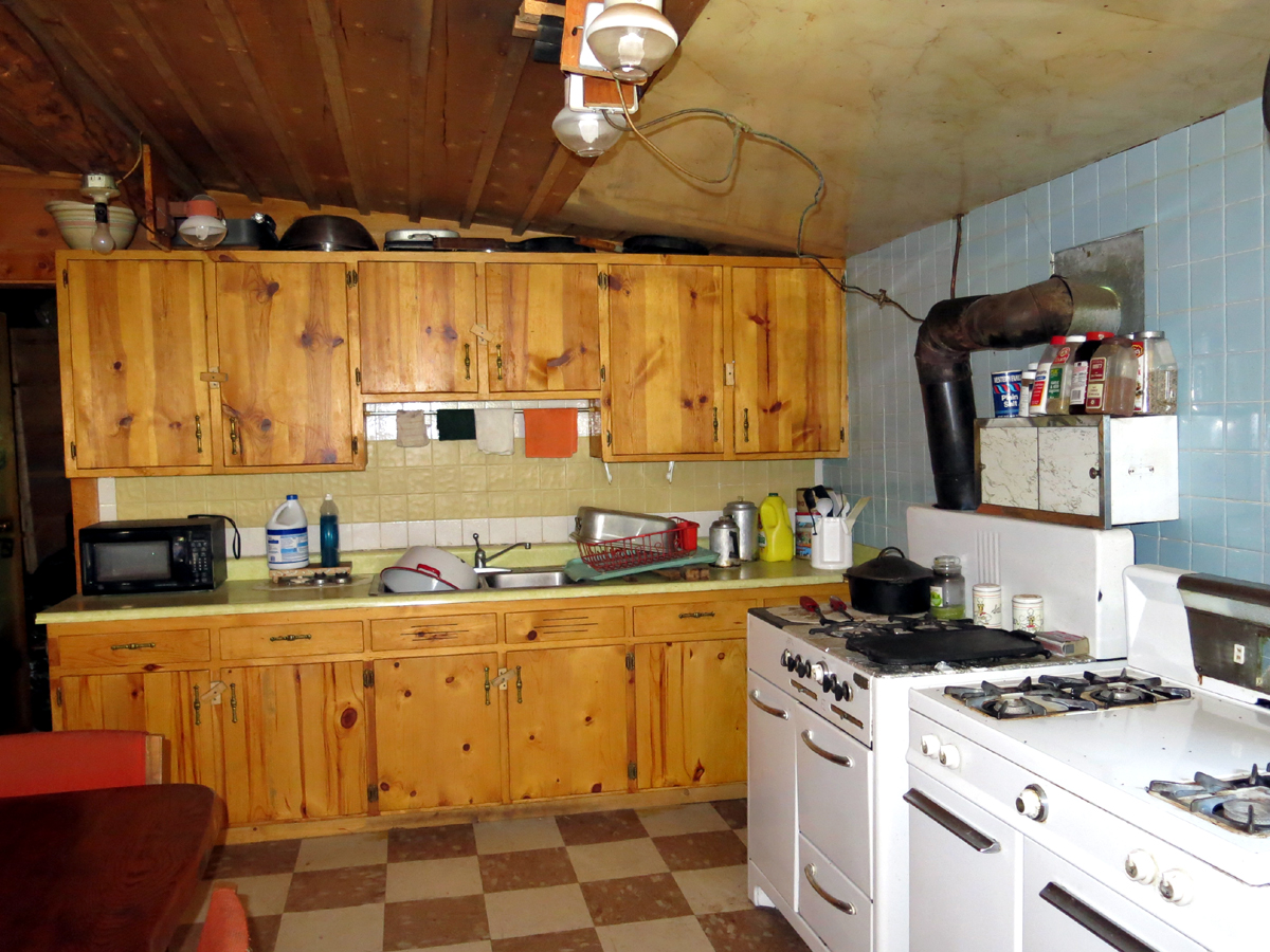 Crested Butte cabin kitchen