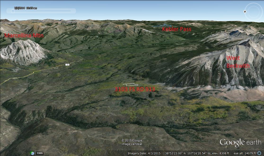 Kebler Pass Aspen grove Property