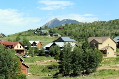 view of Crested Butte from 946 cascadilla