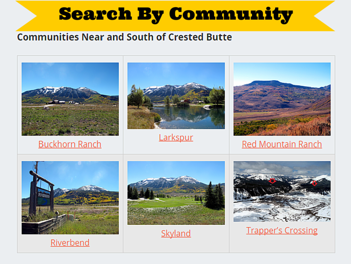 Crested Butte best places to live