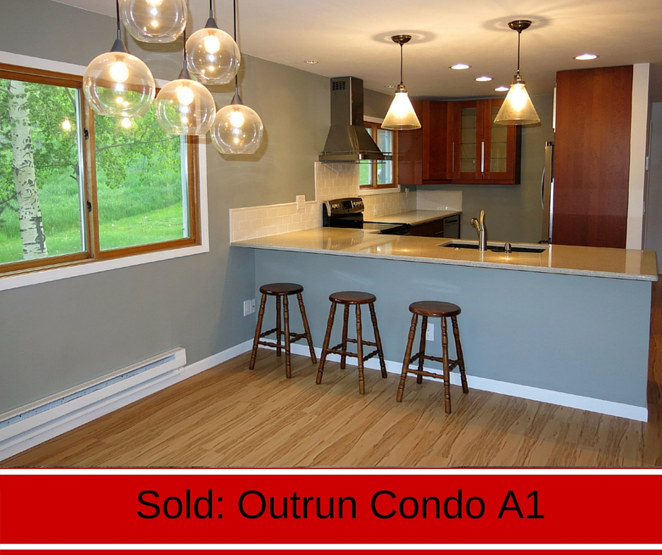 Sold in Crested Butte- Outrun condo Unit A1