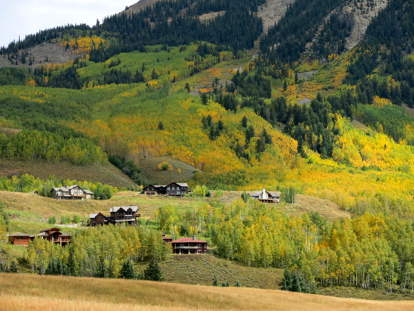 Overlook crested butte colorado real estate
