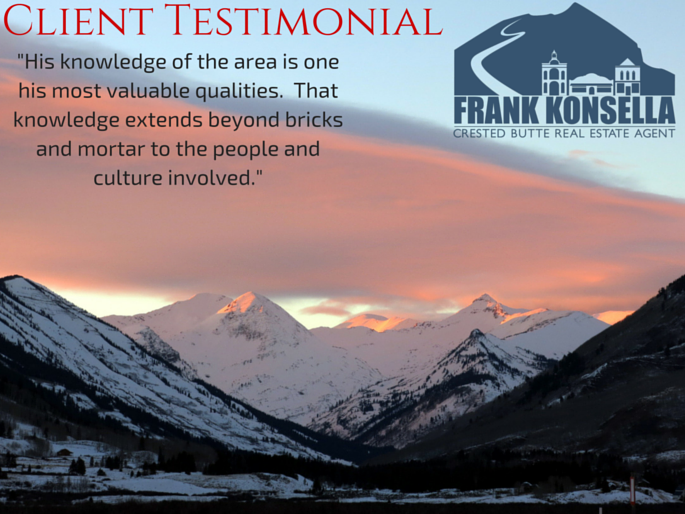 Frank Konsella client review