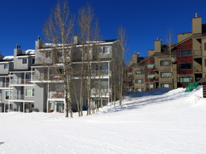 Crested Butte ski in ski out property for sale