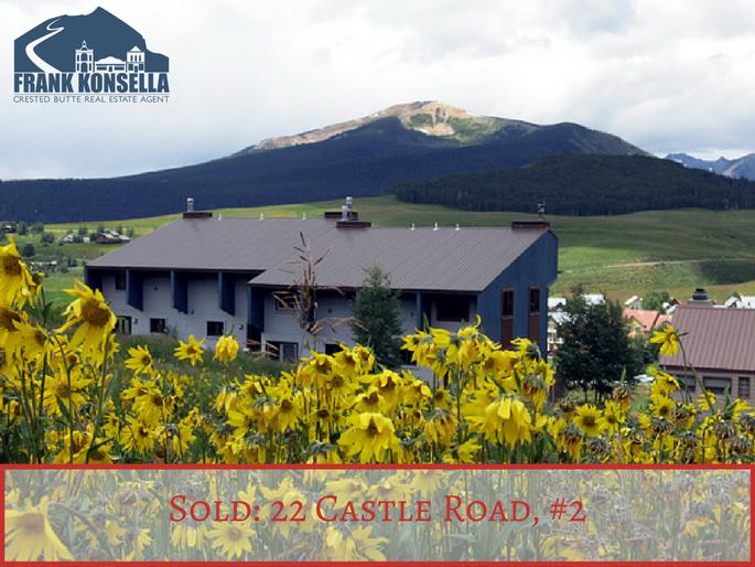 Crested Butte condo sales 22 castle road  #2