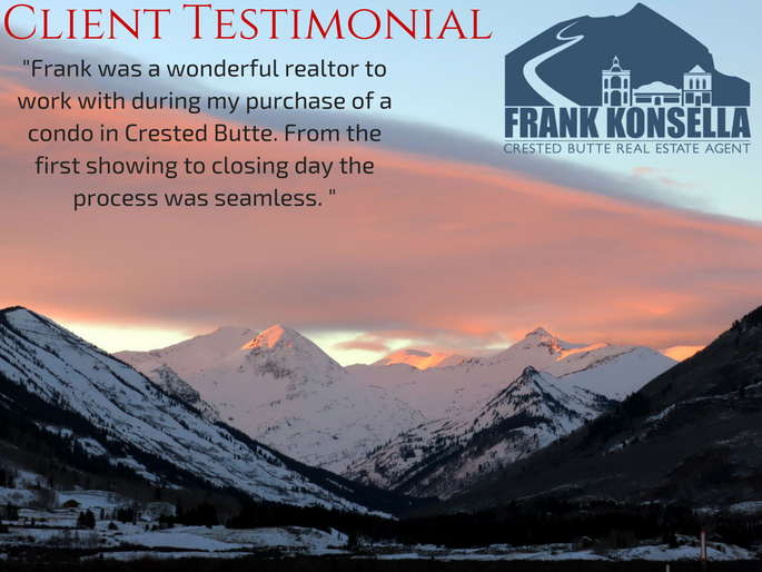 Crested Butte buyer's agent testimonial