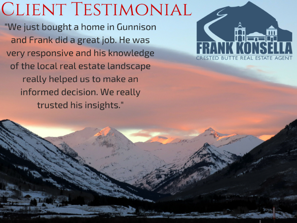 Gunnison real estate agent review